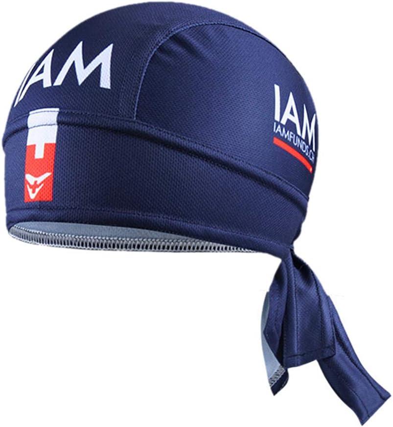 Cycling Hat Men Pirate Bandana Bicycle Sweatproof Headband Sunscreen Riding Cap