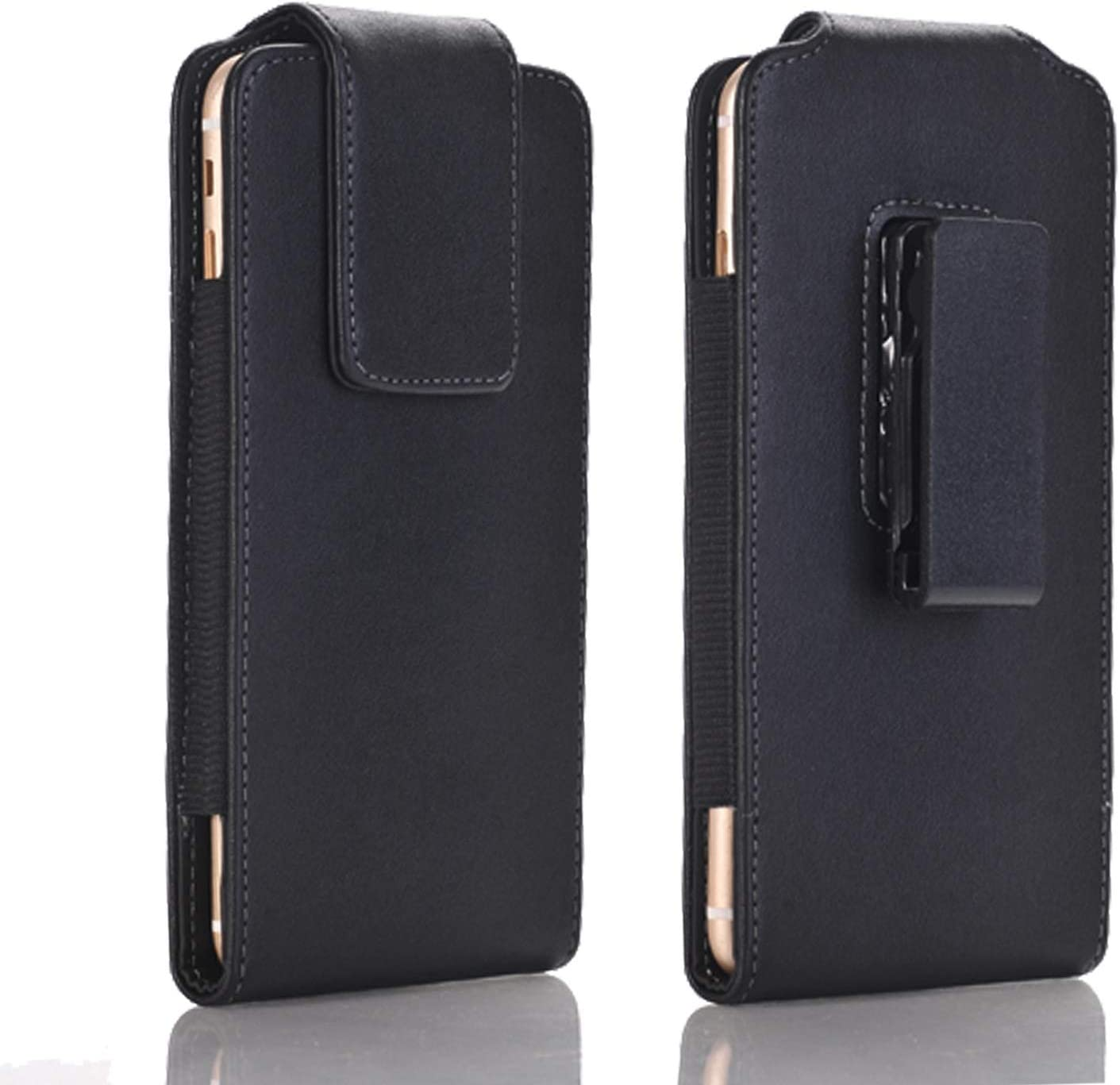 HAIJUN Mobile Phone Holsters Men Leather Belt Clip Holster Pouch Case for iPhone XR, 11, Cellphone Pouch Case Cover,Magnetic Flap Sleeves