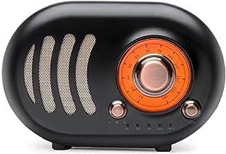 guizhoujiufu Radio Speaker Home Speakers Vintage Retro Speaker - Radio Fm Bluetooth 4.2 Tf Card and Mp3 Player (Color : Wh... photo