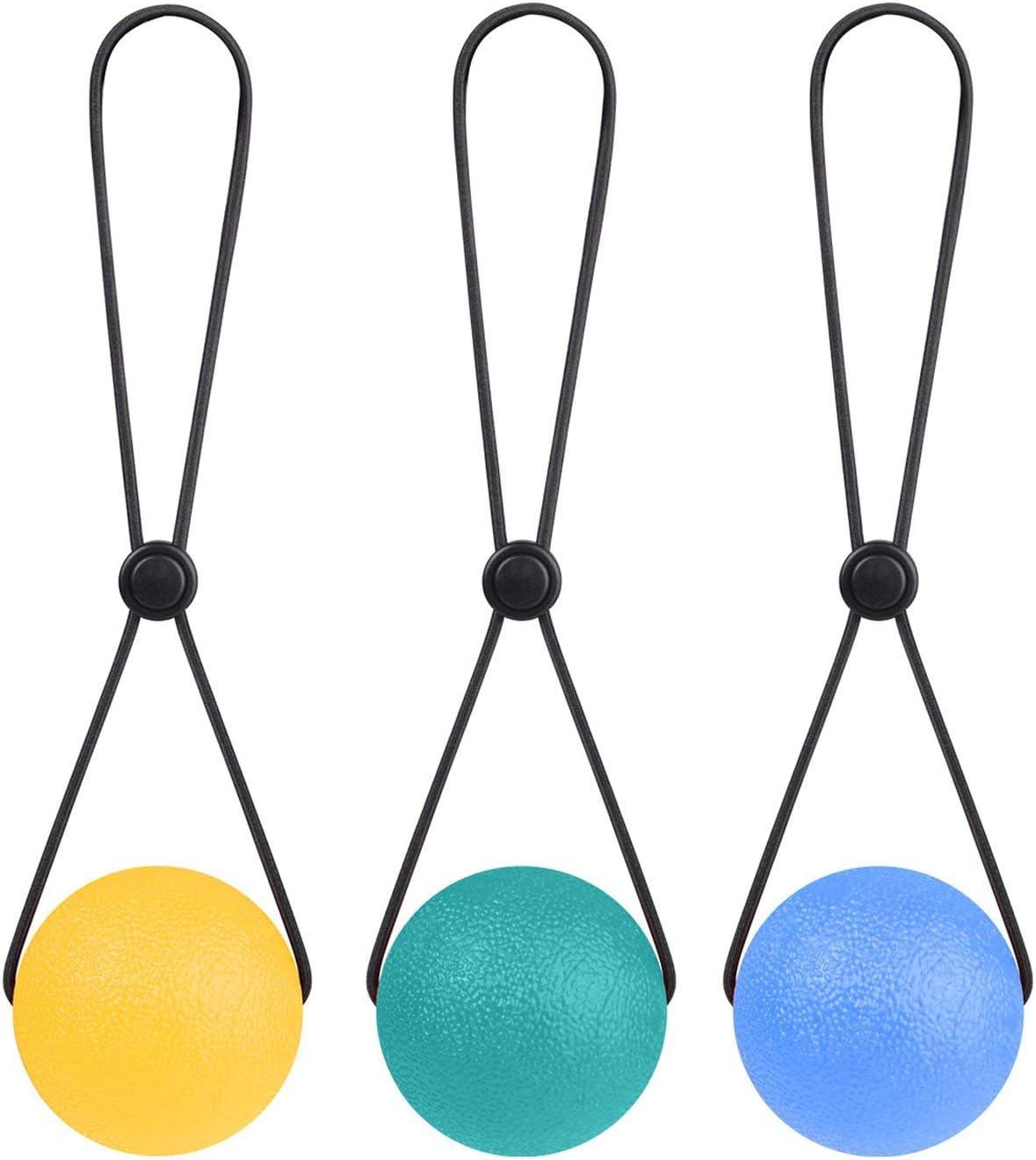 Geniteen Stress Ranking TOP6 Ball Set of Squeeze Nashville-Davidson Mall 3 Portable 2.1inch