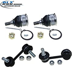 DLZ 4 Pcs Suspension Kit- 2 Front Lower Ball Joint 2 Rear Sway Stabilizer Bar Link Compatible with 2001 2002 2003 2004 2005 Honda Civic (K90332 K90453 K90452)