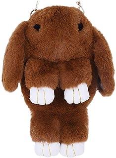 Faux Rabbit Fur Crossbody Handbag Shoulder Bag