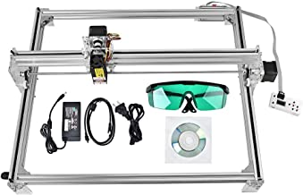 Uttiny CNC Laser Engraving Machine Kit, 500mw-2500mw Adjustable Laser 50cmx40cm DIY Desktop Printer Logo Picture Marking Printer for Wood Carving Engraving Cutting Machine (2500MW)