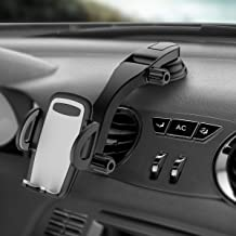 Cell Phone Holder for Car,Dashboard Car Phone Mount,Washable Strong Sticky Gel Pad with One-Touch Design Compatible with iPhone 11 Pro,11,XS Max,XS,XR,X,Galaxy S10 Plus,S10,S9 Plus,Pixel 3,3XL,OnePlus