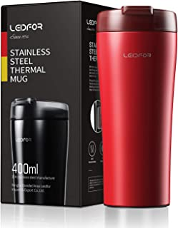 L099 stainless steel mug 16ounce Red