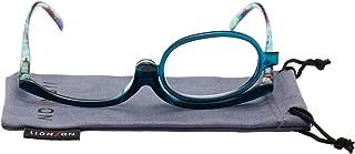 LianSan Readers Magnifying Makeup Glasses Flip Down Lens Folding Cosmetic Womens Make Up Reading Glasses L3660