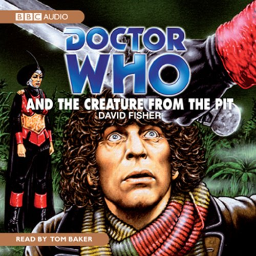 『Doctor Who and the Creature from the Pit』のカバーアート