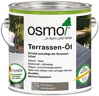 OSMO Terrassen-Öl Grau 019 2,5 Liter