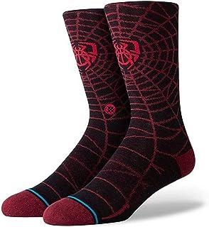 Stance Mens Spida Socks - Black/Red