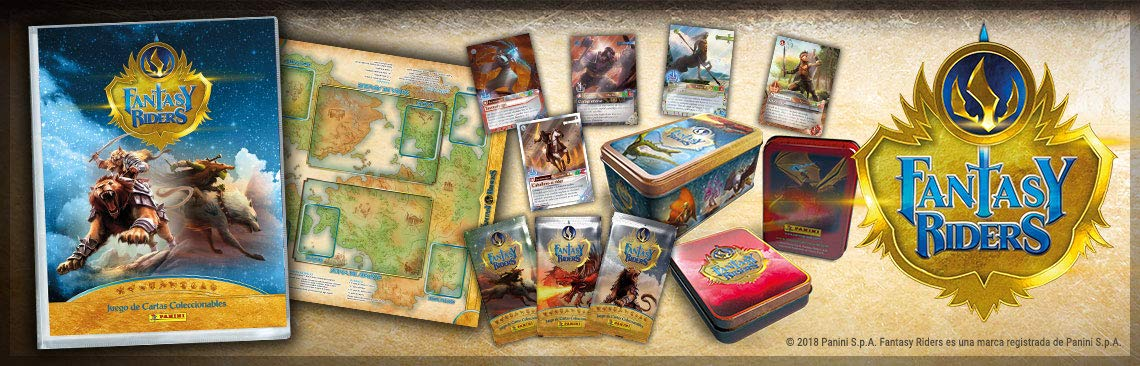 Panini Fantasy Riders - Caja con 50 cartas (003543TINE): Amazon.es ...