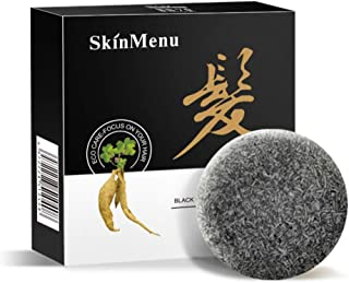 MQUPIN Shampoo Bar,Control Oil Dandruff,Solid Shampoo Bar for Waking up the black hair Soothing Scalp,Soap Plant Essence Shampoo & Conditioner 100% Natural Handmade