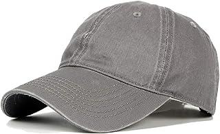 2019 Women Plain Classic Sport Peaked Cap for Unisex Adjustable Cotton Baseball Cap Solid Color 6 Panel Sun Hat Skin-Friendly (Color : 8, Size : Free Size)