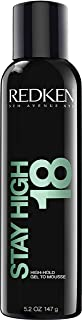 Redken Stay High 18 High-Hold Gel To Mousse | For All Hair Types | Provides Long-Lasting Volume & Body | 5.2 Oz