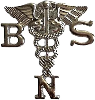 Registed Nurse (RN) Emblem Lapel Pin