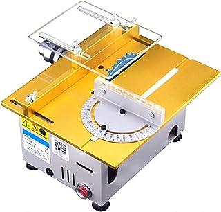 ORPERSIST Bärbar bordscirkelsågmaskin, multifunktionell 7-växlad justerbar elektrisk bordscirkelsåg för skärning av träarb...