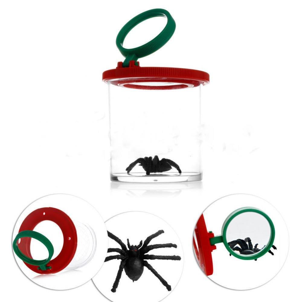 MagiDeal 2X Caja de Lupa para Observar Insectos Juguete al Aire Libre para Niños: Amazon.es: Juguetes y juegos
