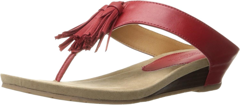 Kenneth Cole REACTION Womens Great Tassel Wedge Sandal
