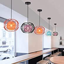 Durable Chandeliers Hollow Metal Pendant Lights, hand-made Lampshade, E27, Living Room Bedroom Kitchen Dining Room Balcony...