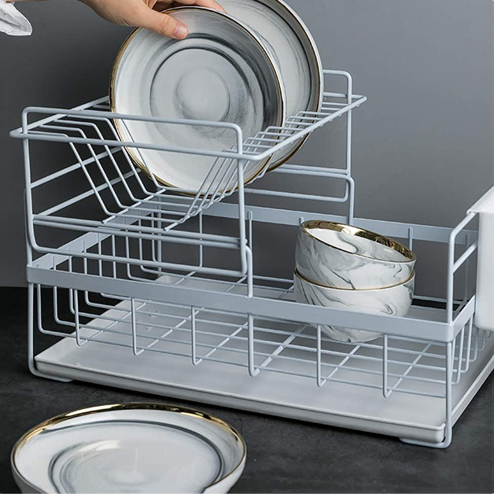 Kitchen Sink Las Vegas Mall Dish Basket Holder Drainer We OFFer at cheap prices With Dryi dish Tray