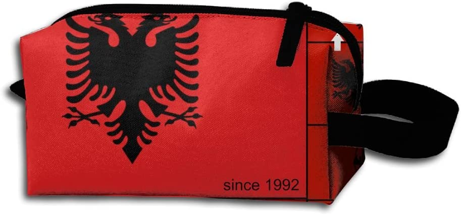 Albanian Flag History And Don't miss the Max 66% OFF campaign Evolution Pur Pencil Bag Portable Coin