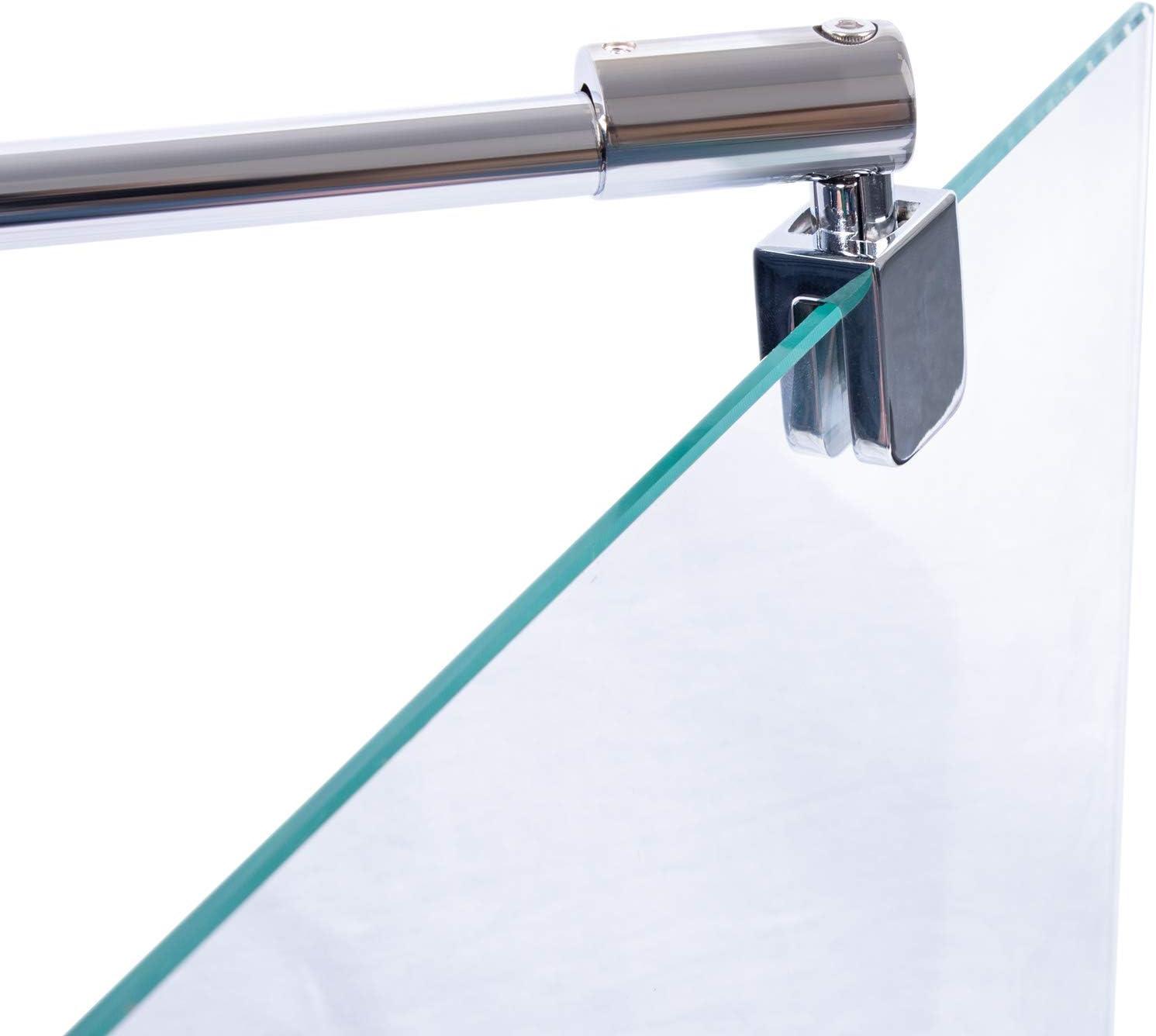 150cm Rundrohr für Duchwand /& Duschkabine Stabilisator Stange