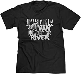 FreshRags Living in a Van Down by The River SNL Men's T-Shirt