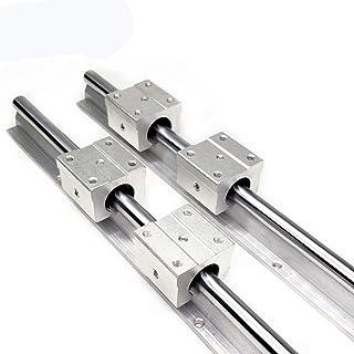 WHHHuan 2pcs SBR16 Guide de Rail linéaire 300 400 500 600 1000 1200 1500mm + 4PCS SB16UU Roulement linéaire Set de Rail li...