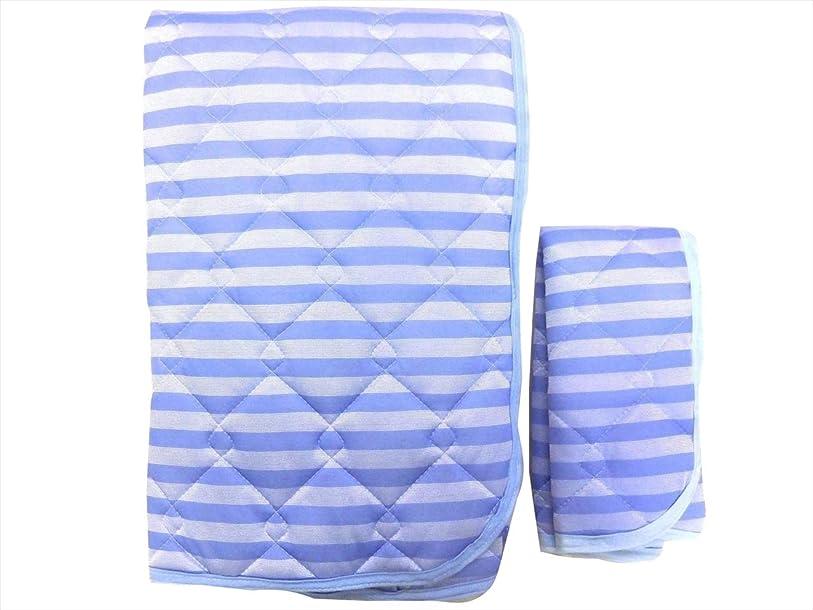 曲線スカーフおとなしいNaturalHouse 敷きパッド 枕パッド セット 接触 冷感 敷パッド + 接触 冷感 枕パット 2点 シングル 敷きパット 100 x 205 cm ピロパット 43 x 63 cm