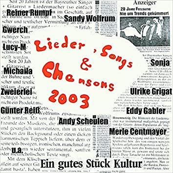 Lieder, Songs & Chansons 2003