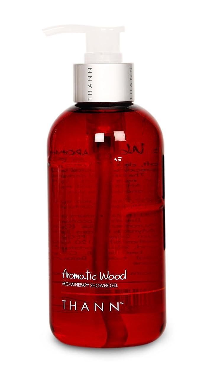 バナー余暇文字通りタン シャワージェルAW(Aromatic Wood) 320ml