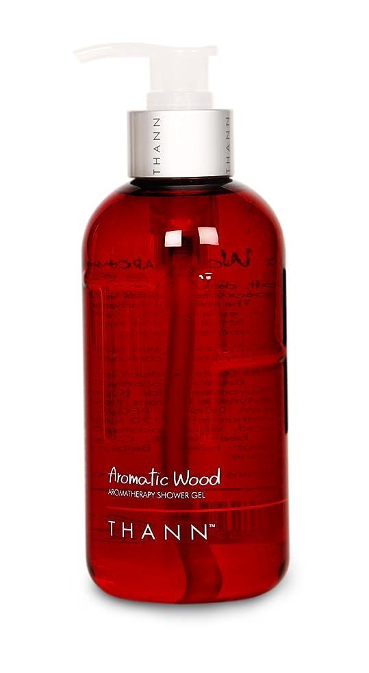 THANN Aromatic Wood Aromatherapy Shower Gel 10.82oz