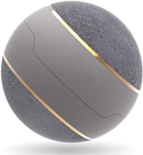 Wireless Bluetooth Speaker, Spherical, Stereo HD Sound Rich Bass TWS for PC/Laptop/Phone/Ipad,Gray