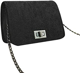 Umhängetasche Damen Clutch Mode Damen Umhängetaschen Lässig Leder Clutch Hasp Handtasche Umhängetaschen