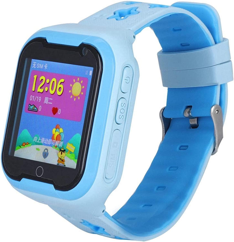 Smartwatch 4G per bambini, IP67 Life Waterproof Smartwatch per bambini Touchscreen da 1,54 pollici GPS + LBS + WIFI + Tecnologia di posizionamento di precisione del cloud computing Braccialetto intell