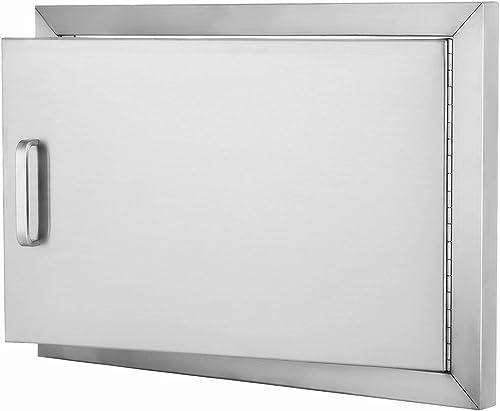 """popular SHZOND 20"""" Wx 14"""" H BBQ Access Door online sale 304 Stainless Steel BBQ Island Door Heavy Duty Single Horizontal Door for sale Outdoor Kitchen outlet sale"""