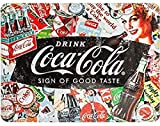 Nostalgic-Art Retro Blechschild Coca-Cola – Collage –