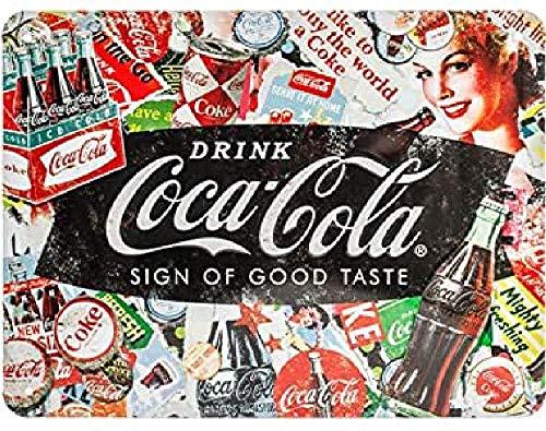 Nostalgic-Art Coca-Cola - Collage, diseño vintage para decoración 26227