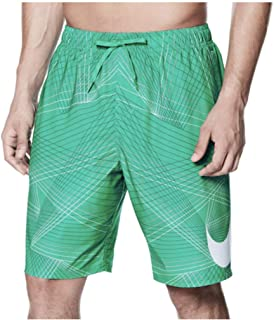 aa35c1e7ad NIKE Men's Breaker 9 Inch Volley Swim Shorts (Large, Clear Emerald)
