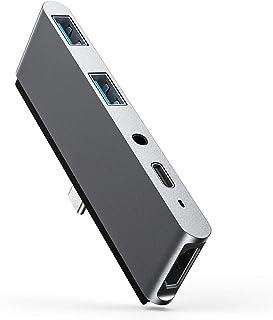 STRENTER 5in1 ipad pro 最新ipad air4 専用ドッキングハブ 安定感抜群ipad pro usb-c ハブ 4K HDMI出力 3.5mmイヤホンジャック SD/Micro SD カードリーダー コンパクト MacB...