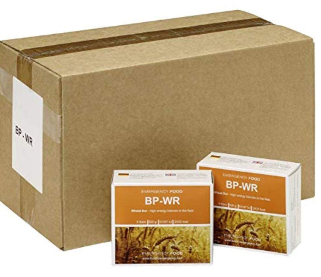 Provisiones de emergencia BP WR (anteriormente BP-5), alimento de larga duración, cartón de 24 paquetes de 500 g, nutriente en tabletas: Amazon.es: Jardín