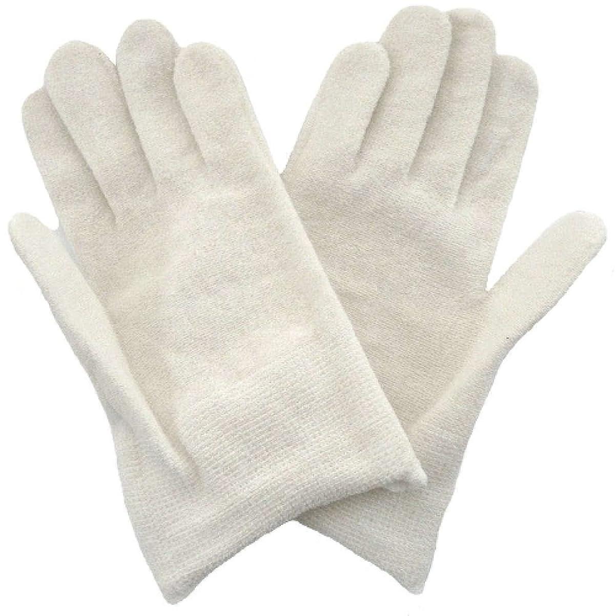 ハミングバード実業家出撃者【アトピー】【水疱瘡】【皮膚炎】 ナノミックス おやすみ手袋:キッズ用 ホワイト