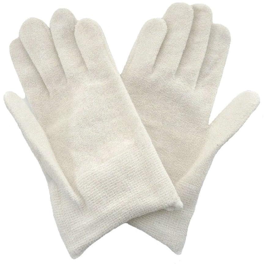 受益者直感ために【アトピー】【水疱瘡】【皮膚炎】 ナノミックス おやすみ手袋:キッズ用 ホワイト