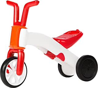 Chillafish CPBN01RED Bunzi 2-in-1 Gradual Balance Bike, Red