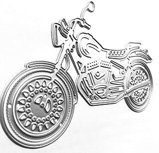 Matrices De Découpe Mental Dies Coupe, Artisanat Moto Vélo Véhicule Dies Metal Cutting Pochoirs Scrapbooking Carte Photo A...