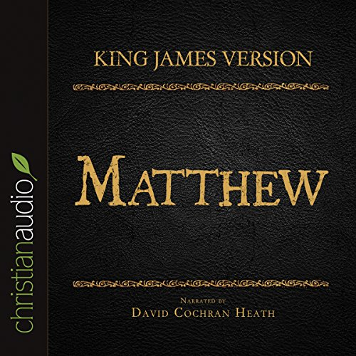 Holy Bible in Audio - King James Version: Matthew cover art