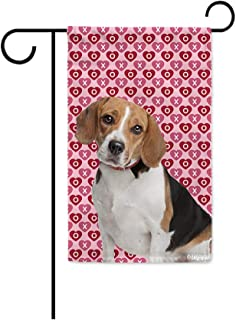 Details about  /Beagles And Duck Burlap Impressions Decorative Garden Flag G160068-DB