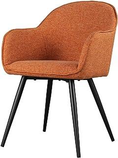 Selsey Silla de Comedor, Naranja, 57x65x85,5
