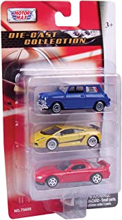 Motormax 3 Pc 3 inch Die Cast Vehicle Set Die Cast Model