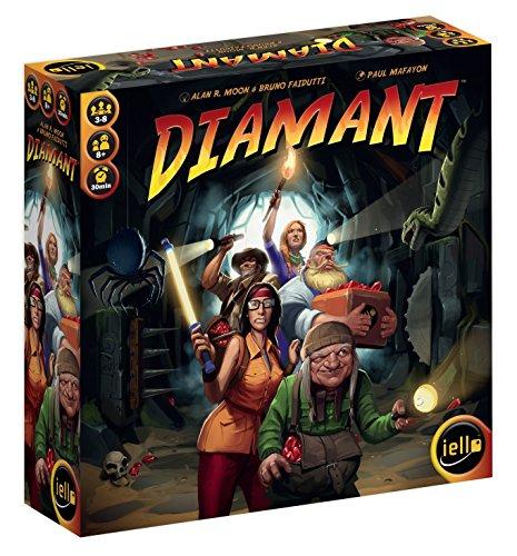 Diamant - Bordspel - Ga de grot in en vind schatten - Voor de hele Familie - Taal: Engels