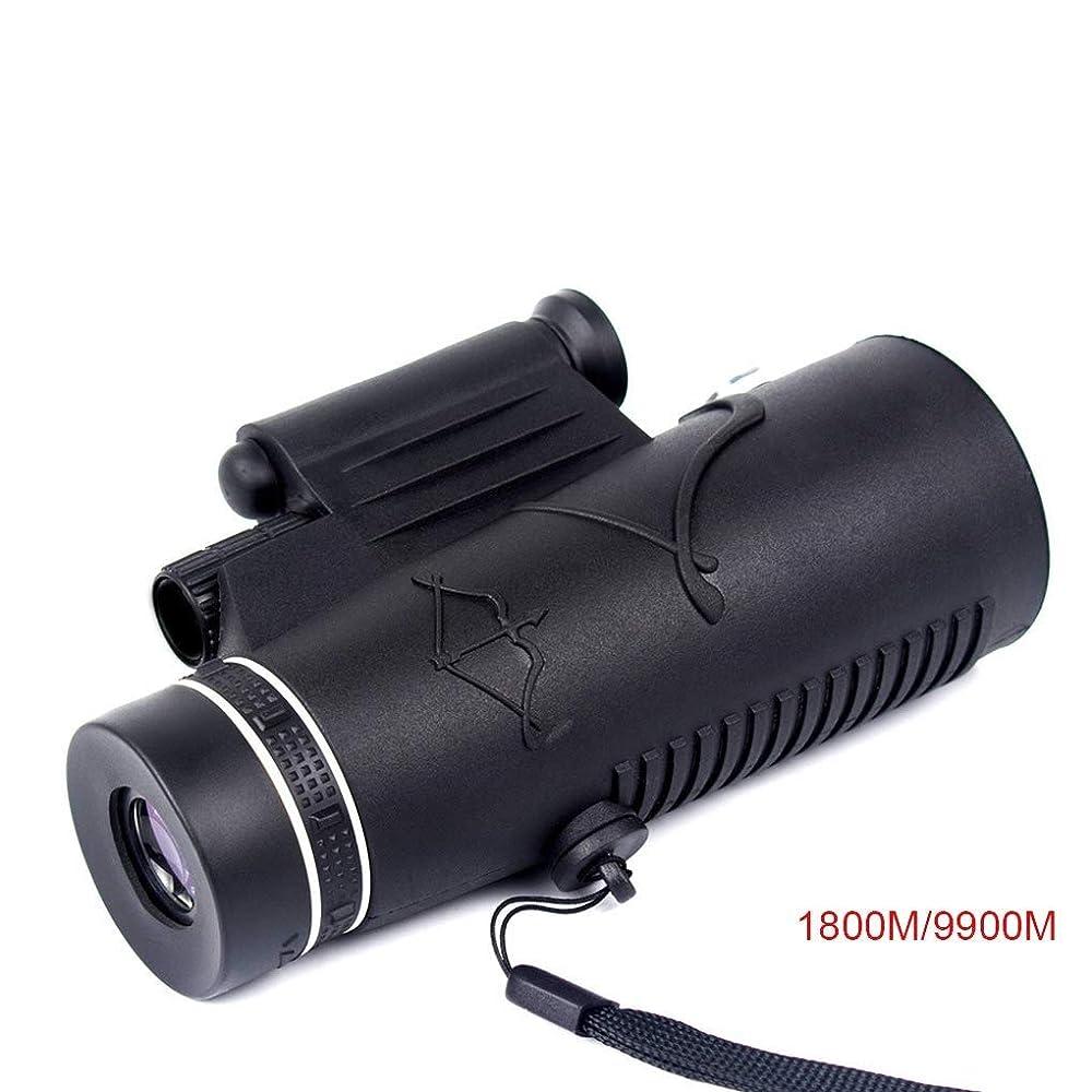 起こる書士味付けIRVING 単眼鏡 携帯電話 望遠鏡 HD ハイパワー オーバーヘッド照明付き 屋外撮影可能